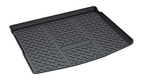 Vesul Rear Trunk Cargo Cover Boot Liner Tray Carpet Floor Mat Fits on All-New Jeep Compass 2018 ()