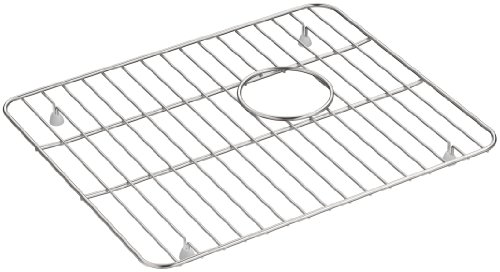 KOHLER K-5828-ST Whitehaven Sink Rack, Large, Stainless Steel