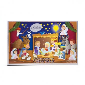Advent Count Down To Christmas Calendars Madelaine Gourmet Chocolate (Christmas Pageant) (Birthday Gift Baskets New Jersey)