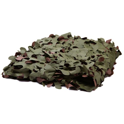 Camouflage Net, Fire Retardant, Military Style Camo Netting, Approx Size 20ft x 10ft by Camonetz