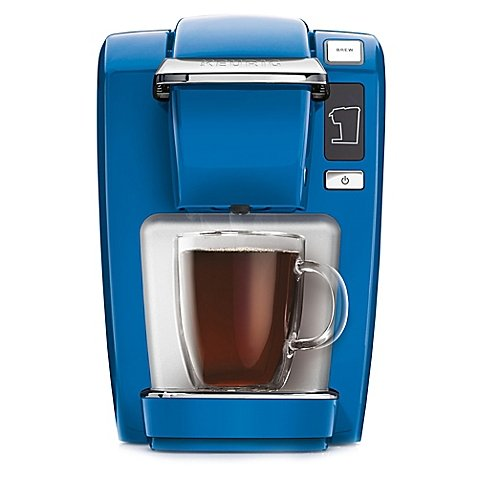 Compact Design Keurig® K10/K15 Brewing System Perfect for smaller spaces, dorms, offices, or vacation homes (Blue) (Keurig K10 Blue compare prices)
