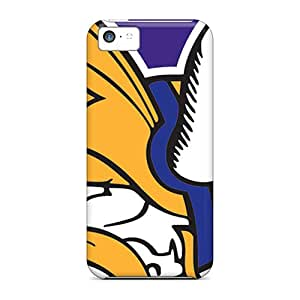 Defender Case With Nice Appearance (minnesota Vikings) For Iphone 5c