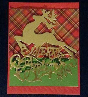 Christmas Merry Frame Cutting Dies Metal 2017 New Merry Christmas Letters Reindeer Cutting Dies Stencil for Scrapbook Card Frame Envelope Decorative Metal Craft Dies
