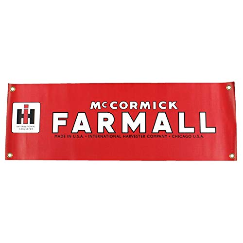 (Farmall Vintage International Harvester McCormick Logo 10