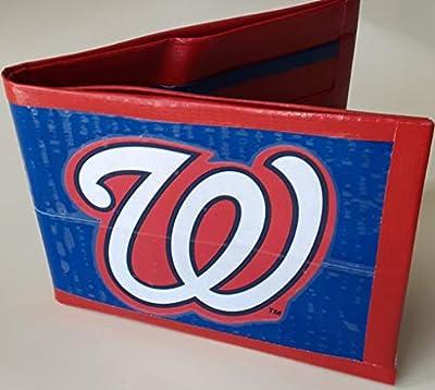 Washington Nationals MLB Baseball Bi-Fold Duct Tape Wallet