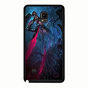 Personalise Akali LOL Phone Case Cover for Samsung Galaxy Note 4 League of Legends Character Design