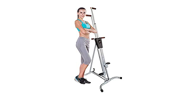 GJJSZ Máquina de Escalada Plegable Vertical de Escalador,Escalador de Equipo de Ejercicio,para Gimnasio en casa,Ejercicio de Escalera para Entrenador de Cuerpo en casa: Amazon.es: Deportes y aire libre