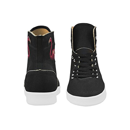 D-story Scarpe Personalizzate Grunge Usa Bandiera High Top Retro Donna Sneaker Multicoloured6