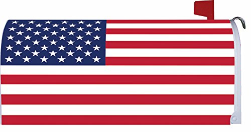 American Flag Mailbox -