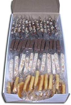 Caja Surtida de Porciones individuales de turrón - 2Kg (100 porciones aprox). Envío desde Jijona recién hechas.: Amazon.es: Alimentación y bebidas