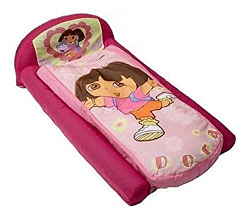 Amazon. Com: nickelodeon dora the explorer canopy toddler bed: baby.