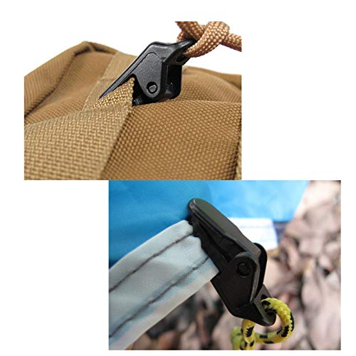 Tarp Clips Black Trap Clips Jaw Tent Snaps Camping Clamp Clips Tent Tighten for Outdoors Shine US Pack of 30 Small Clamp Tarp Awning Clamp Set