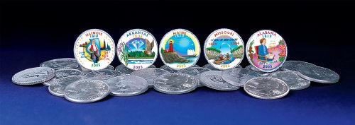 American Coin Treasures 2003 Colorized Statehood Quarters from American Coin Treasures