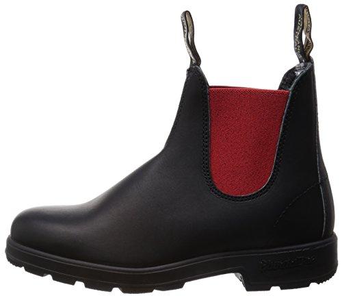 Bottines Voltan Mixte red Bottes Blundstone amp; Adulte Classic Comfort 585 Classiques Black qWX7z