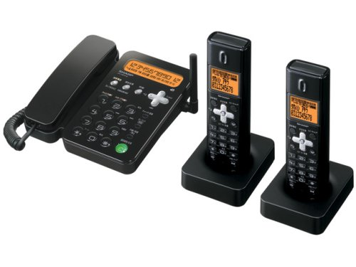 SHARP デジタルコードレス電話機 子機2台付き ブラウン JD-N51CW-T B000HP7L3W ブラウン|子機2台付き ブラウン
