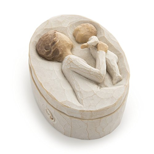 (Willow Tree hand-painted sculpted Keepsake Box, Grandmother)