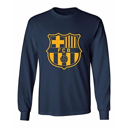 2ef585c3cff Barcelona Shirt Lionel Messi Soccer Futbol Jersey Long Sleeve Shirt  10 T-Shirt  Soccer-International Clubs