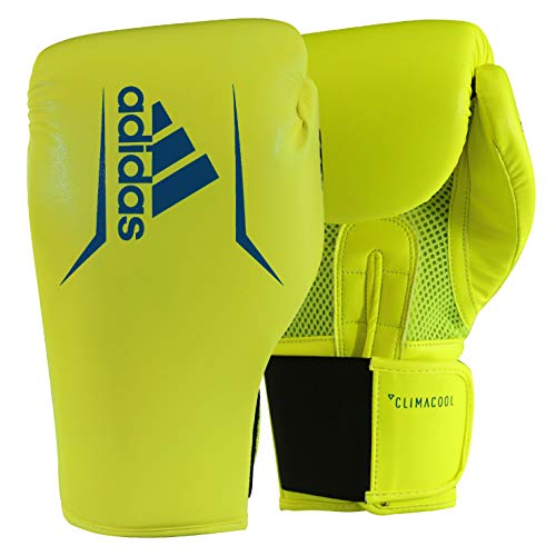 adidas Speed 75 Yellow/Blue Boxing Gloves - 16oz