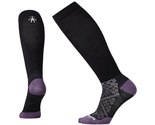 Smartwool Women's PhD Graduated Compression Ultra Light Socks (Black) Medium