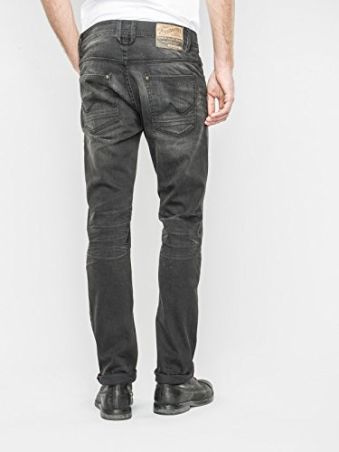 Petrol Industries Herren Jeans Jeanshose SHERMAN Farbe Black Stone Dunkelgrau Grau Weite 29 30 31 32 33 34 36 38 Länge 32 34