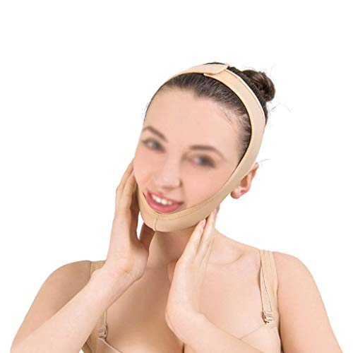 暴君病んでいる体現するフェイスシェイピングベルト、肌の包帯を持ち上げて引き締める、フェイスベルトを持ち上げる、快適で フェイシャルリフティングマスク(サイズ:S),S
