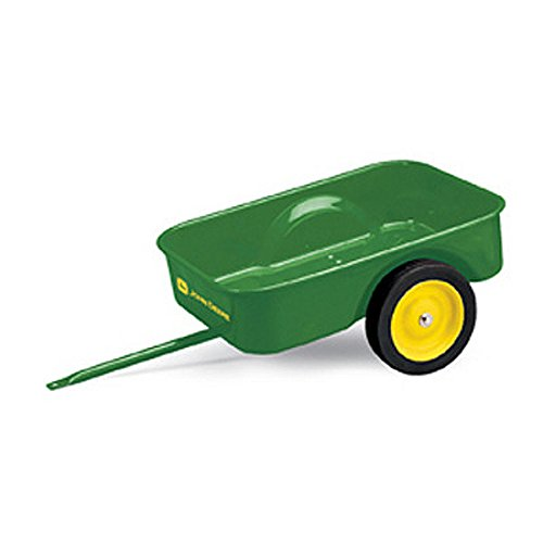 Pedal Trailer John Deere with John Deere Graphics (Kids John Deere Wagon)