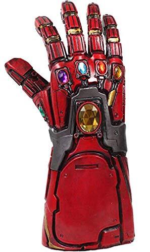 Latex Gauntlets - Thanos Glove Iron Man Style Latex Gauntlet Adult Halloween Teens Cosplay Costume Accessory Prop R