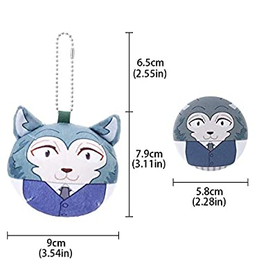 Kpop Space BEASTARS Plush Toy BEASTARS Keychain collectable Anime Toy( H03): Toys & Games