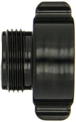 "Moon 369-1021014 Aluminum Fire Hose Adapter, Rocker Lug, 1"" NH RIG RL Female x 1"" NPSH Male"