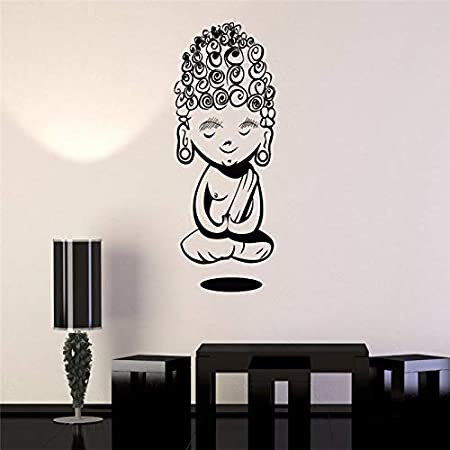 ONETOTOP Niño Buda Pegatinas de Pared para Yoga Meditación ...