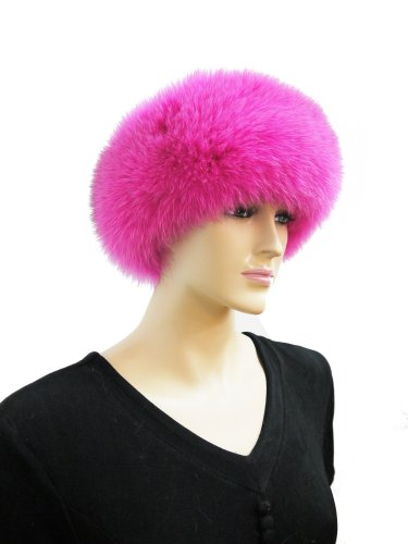 Fox Fur Headband (Hot Pink) by Hima