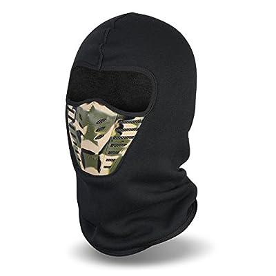 Vbiger Balaclava Ski Mask Windproof Ski Cap for Skiing & Snowboarding & Cycling