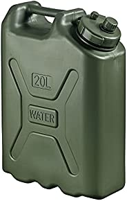 Scepter 05177 Military Water Container - 5 Gallon (20 Litre), AM Green