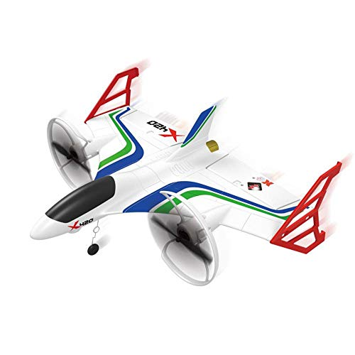 (Faironly XK X420 2.4G 6CH 420mm 3D6G VTOL Vertical Take-Off and Landing EPP 3D Aerobatic FPV RC Airplane RTF Without Camera Left Hand Throttle)
