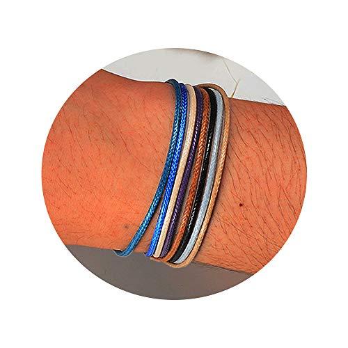 (Shonyin Friendship Handmade String Bracelets Adjustable Waterproof Bracelet for Teen Girls Women Men Unisex 8pcs)