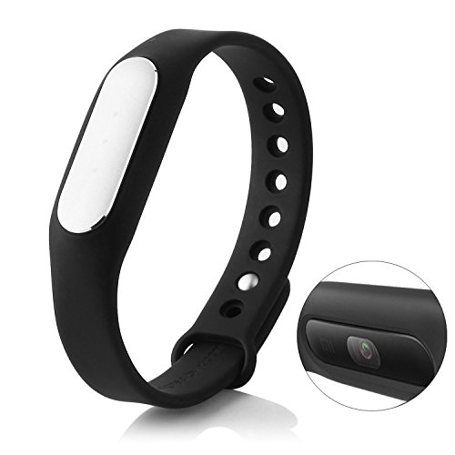 Original Xiaomi Mi Band 1S The latest smart band model of Xiaomi with heart rate, black