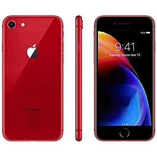 Apple iPhone 8, 64GB, Red - for Verizon (Renewed)