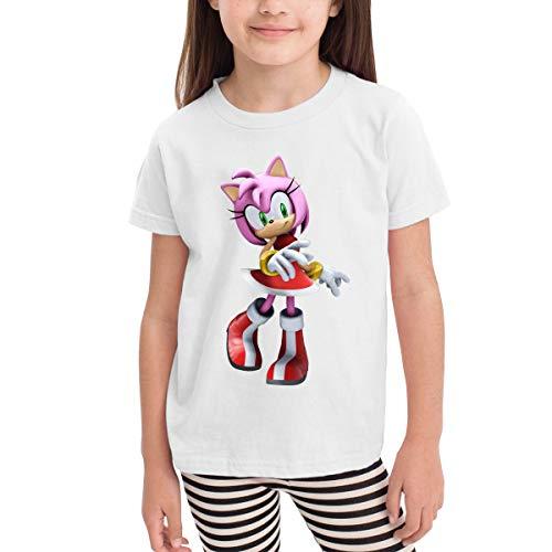 HiPiClothK Children's Teen Sonic Hedgehog Amy Rose Fashion
