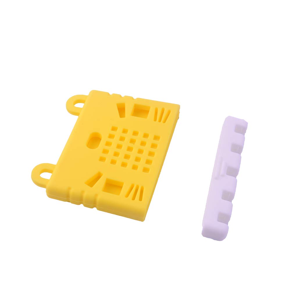 Stemedu for BBC Micro:bit Microbit Silicone Case Cute Cover Yellow