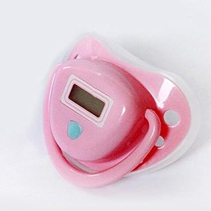 Summer Infant Termómetro Digital chupete de bebé Chupete Chupete seguro, color rosa