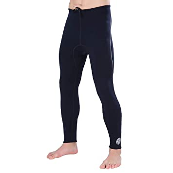 3MM Hombres Negro Traje de Neopreno Pantalones Neopreno Snorkel ...