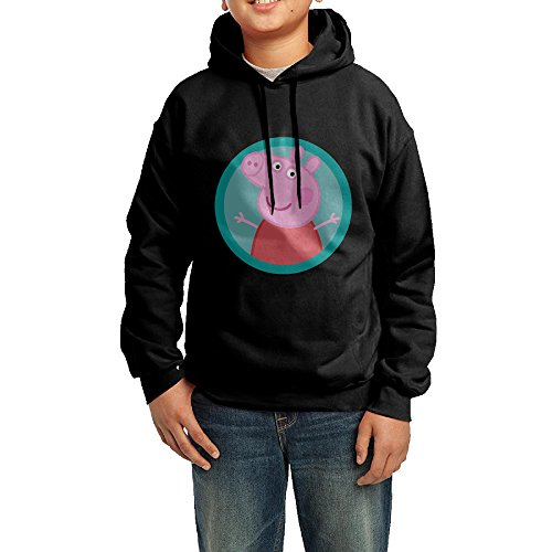 (Younth's Peppa Pig Hooded Sweatshirt)