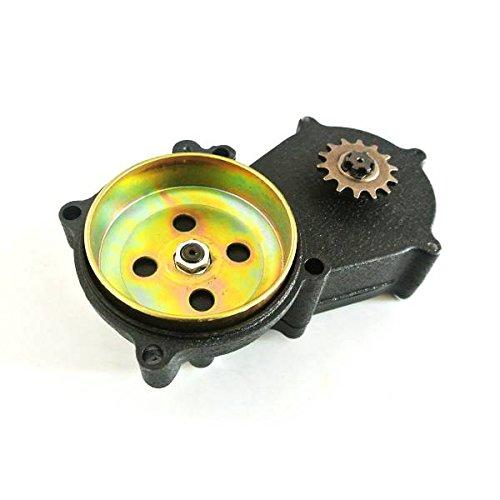 Generic 14T T8/F Gear Caja doble cadena tambor de embrague para vivienda 47/cc 49/cc Mini Moto Dirt Bike