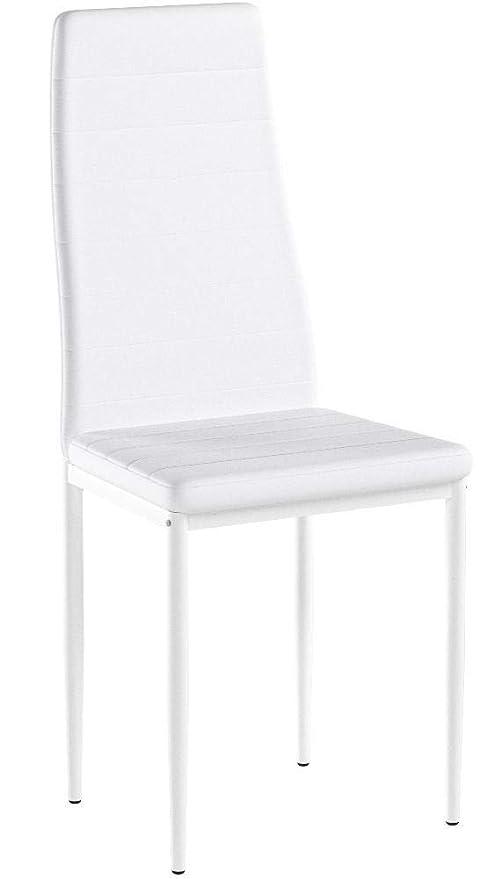 silla comedor albatros blanca