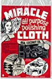"Miracle Cloth All Purpose Polishing 6"" x 9"" Cloth"