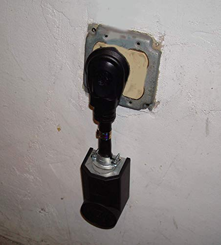 Dryer Power Cord Adapter, 4-Prong Plug To 3-Prong Outlet, Male To Female Electric Converter. by getwiredusa (Image #3)