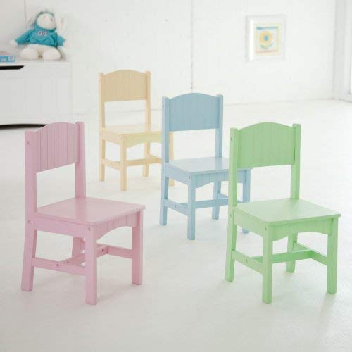 KidKraft Nantucket Table /& 4 Pastel Chairs