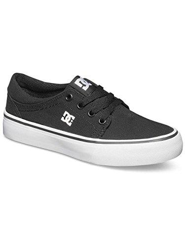 DC Shoes ADBS300251, Zapatillas Niños Black/White