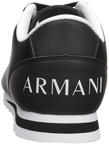 Exchange Men Armani X Black A Sneaker Exchange Logo Armani wqIX1U1ct