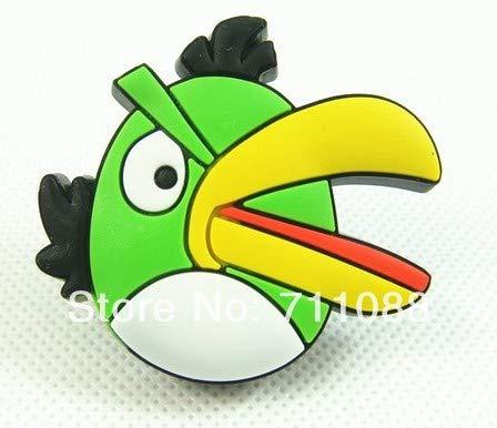 children knob prevent soft green bird cabinet drawer handle children room handle furniture knob kid knob